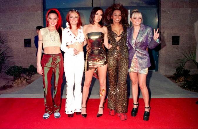 Le girl power au complet lors des Billboards Awards 1997
