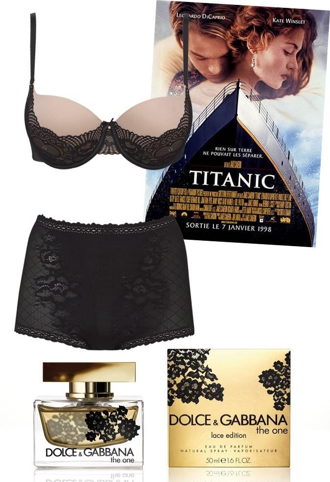 Une scène de Titanic avec Kate Winslet
