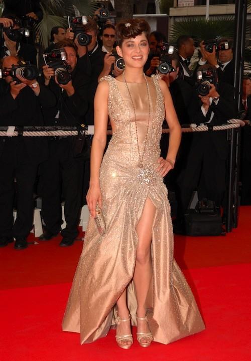 Marion Cotillard au Festival de Cannes 2007 !