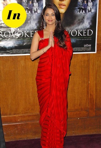 Aishwarya Rai en 2007 à Londres.