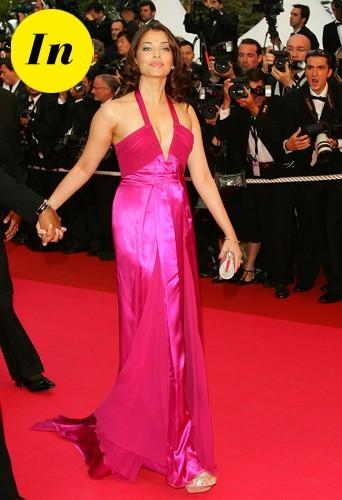 Aishwarya Rai en 2008 à Cannes.