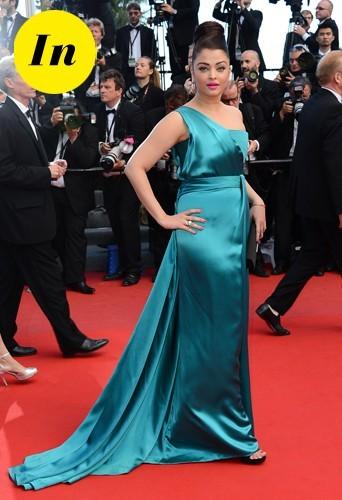 Aishwarya Rai en Gucci en 2013 à Cannes.