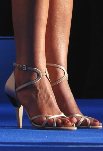 Les chaussures de Rachida Dati