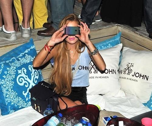 C'est l'iPhone de Lindsay Lohan !