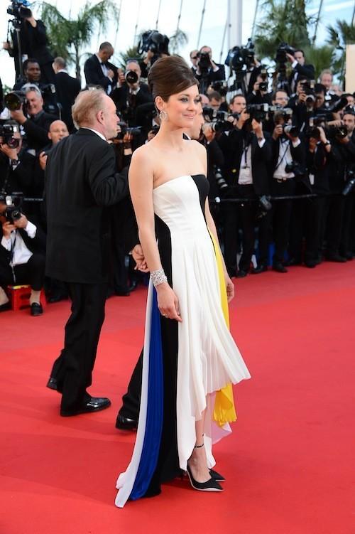 Marion Cotillard au festival de Cannes 2013 !
