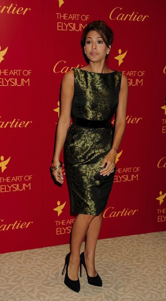 Eva Mendes en Michael Kors