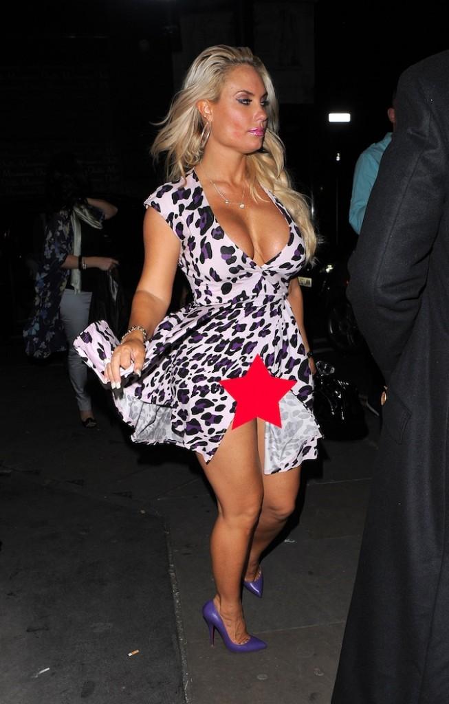Coco, lorsqu'on porte un robe fendue, on n'oublie pas sa culotte !