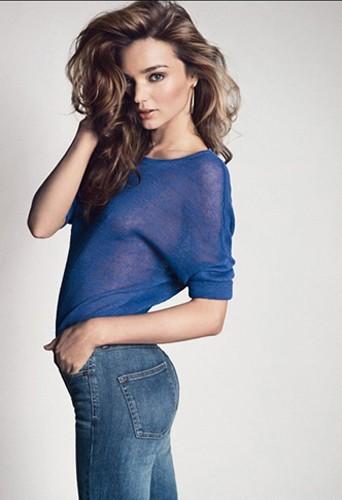 Miranda Kerr égérie de la nouvelle collection Mango Printemps-Été 2013.