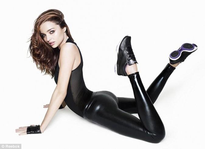 Miranda Kerr pour la campagne EasyTone 2012 de Reebok
