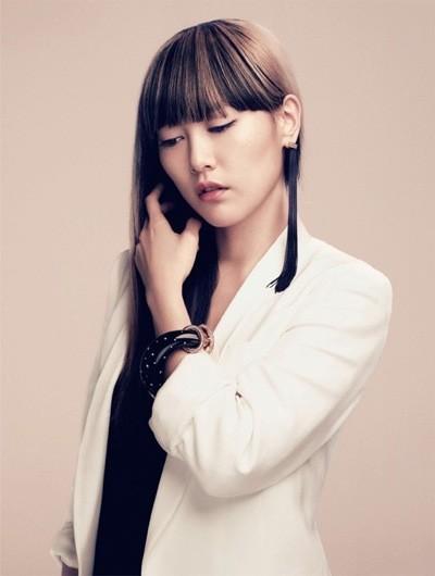 L'actrice Rinko Kikuchi pour les bijoux Louis Vuitton