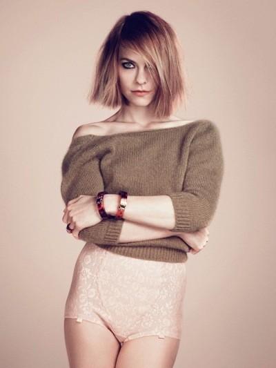 La chanteuse Mohini Geisweiller pour les bijoux Louis Vuitton
