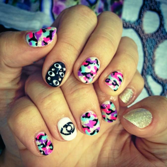le nouveau nail art !