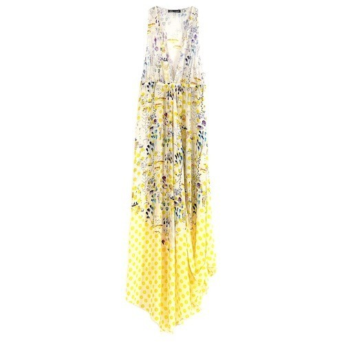 Robe foulard imprimé fleuri, Antik Batik, 270 euros