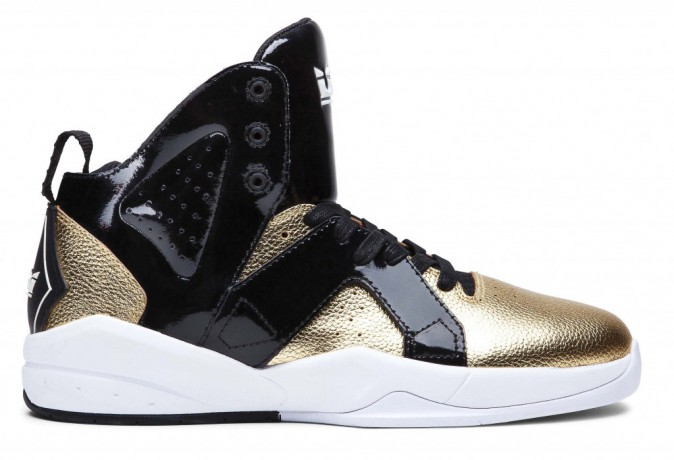 Baskets Tenisky Spectre Magazine black/gold, Supra 120 €