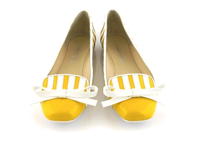 Mocassins à nœud, Mellow Yellow 99 €