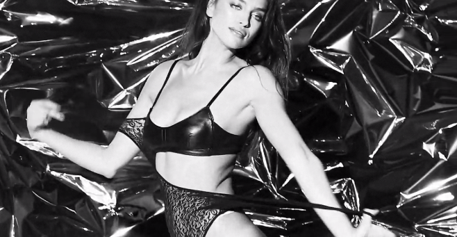 Mode : Adriana Lima et Irina Shayk : deux bombes sensuelles pour le Love Advent !