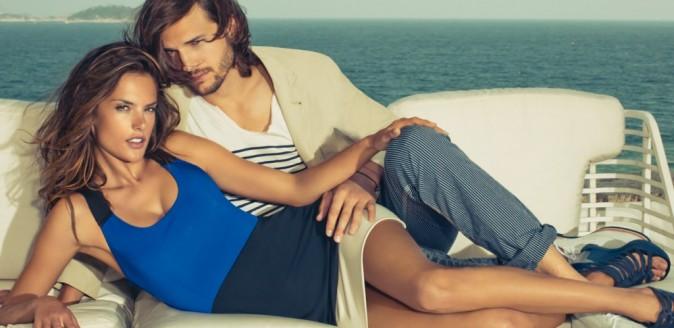 Alessandra Ambrosio et Ashton Kutcher pour Colcci printemps/été 2013