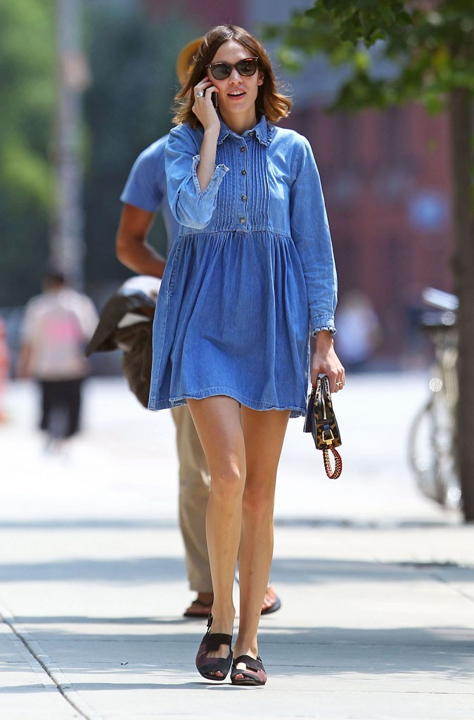 Petite robe en jean