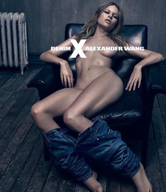 Mode : Alexander Wang x Denim : quel top model se cache derrière cette campagne HOT ?! Découvrez...