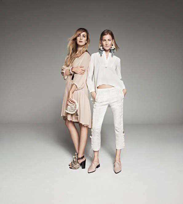Alexia Niedzielski et Elizabeth von Guttman pour H&M Conscious