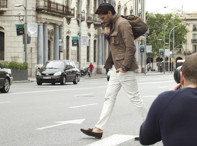 Andrés Velencoso Segura pose devant l'objectif du photographe Scott Shuman.