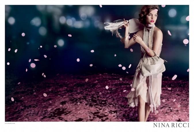 Arizona Muse égérie pour Nina Ricci