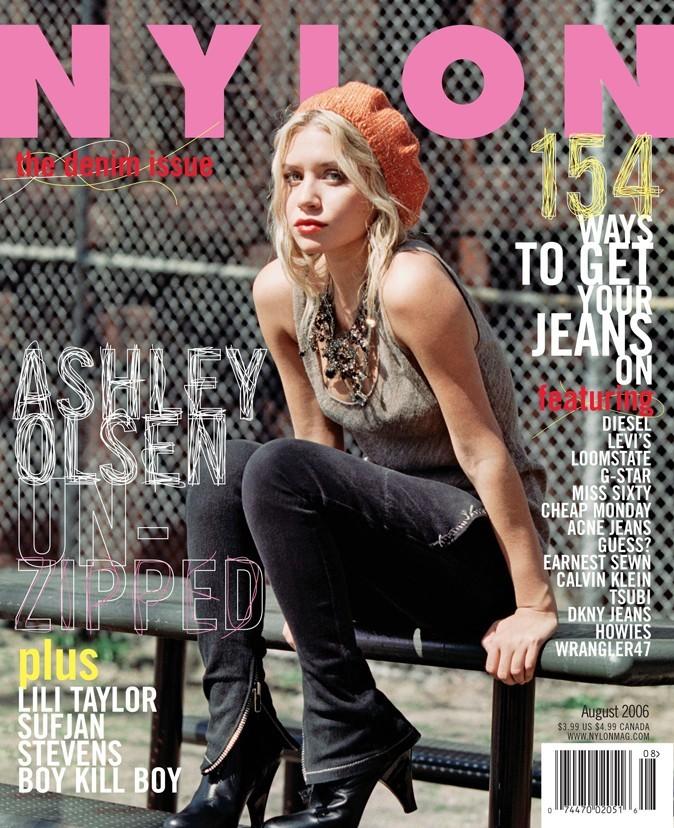 Ashley Olsen fait la couverture de Nylon en Août 2006 !