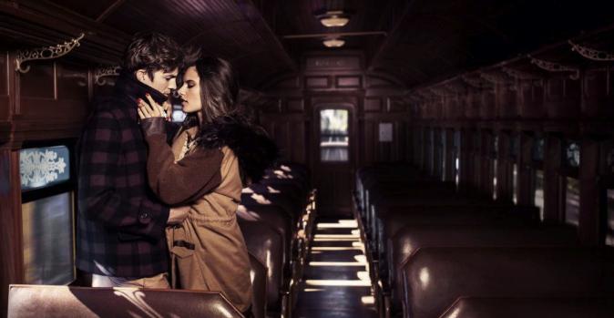Ashton Kutcher et Alessandra Ambrosio pour la collection automne-hiver 2012 de Colcci