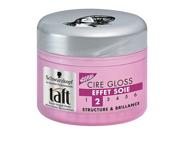 Cire gloss effet soie Taft, Schwartzkopf 6€