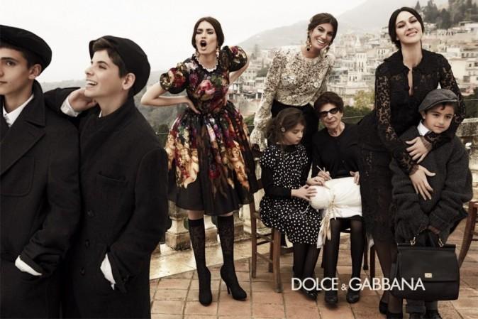 Bianca Balti pour Dolce & Gabbana automne 2012