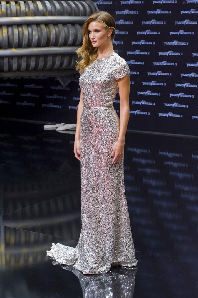 Rosie avec sa robe longue, sublime !