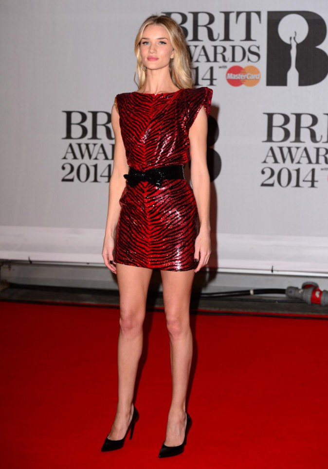 Rosie Huntington Whiteley en Saint Laurent