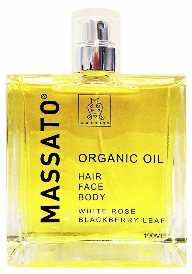 L'huile de beauté Massato pour les cheveux, le corps et le visage !