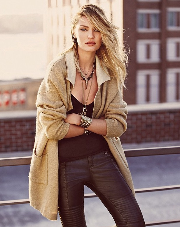 Mode : Candice Swanepoel : sexy et surprenante pour sa campagne Free People !
