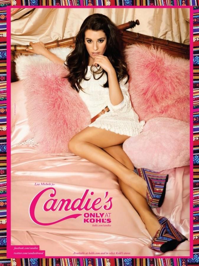 Lea Michele, égérie 2012 Candie's