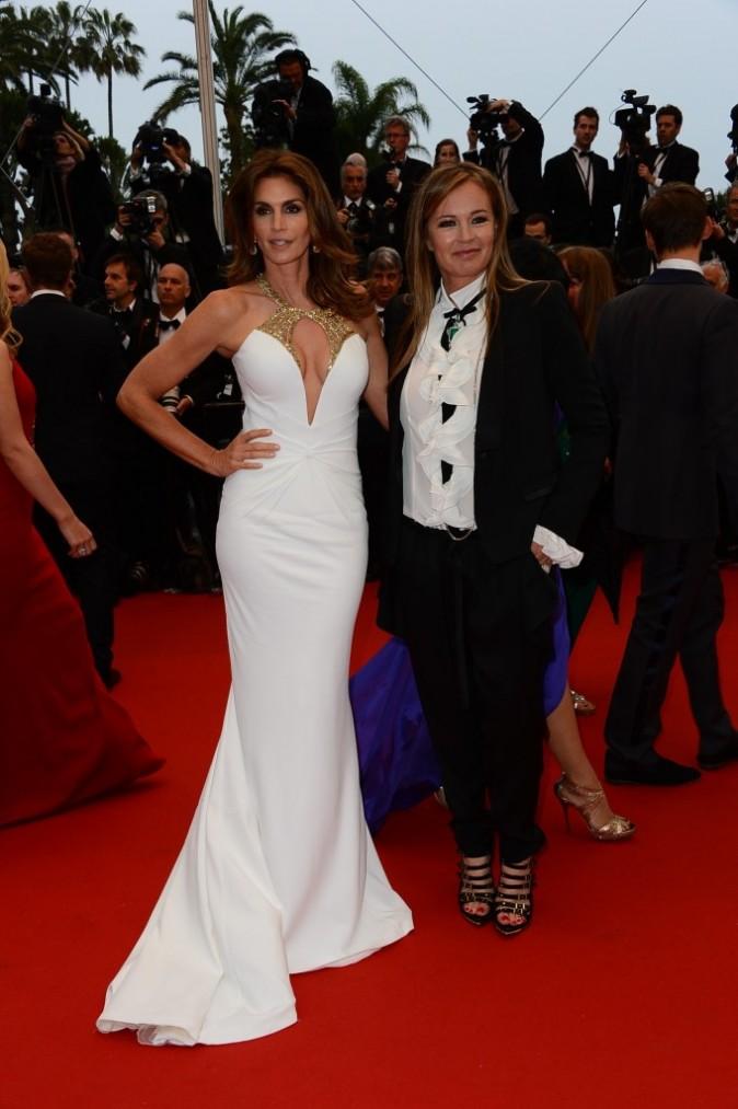 Cindy Crawford et Eva Cavalli le 15 mai 2013