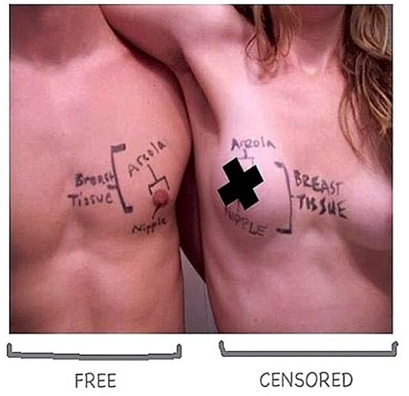 """Cara Delevingne : elle soutient la campagne """"Free The Nipple"""" les tétons à l'air sur Instagram !"""