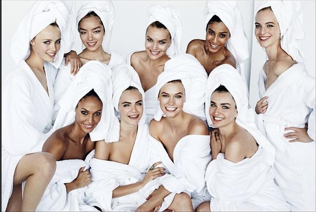 Shooting pour Vogue Septembre