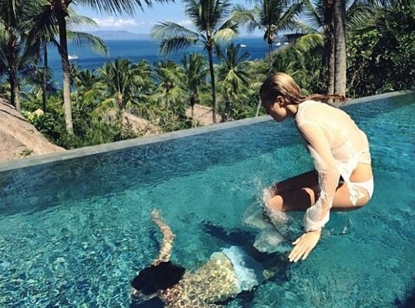 Mode : Cara Delevingne : nue pour un shooting à Bali !