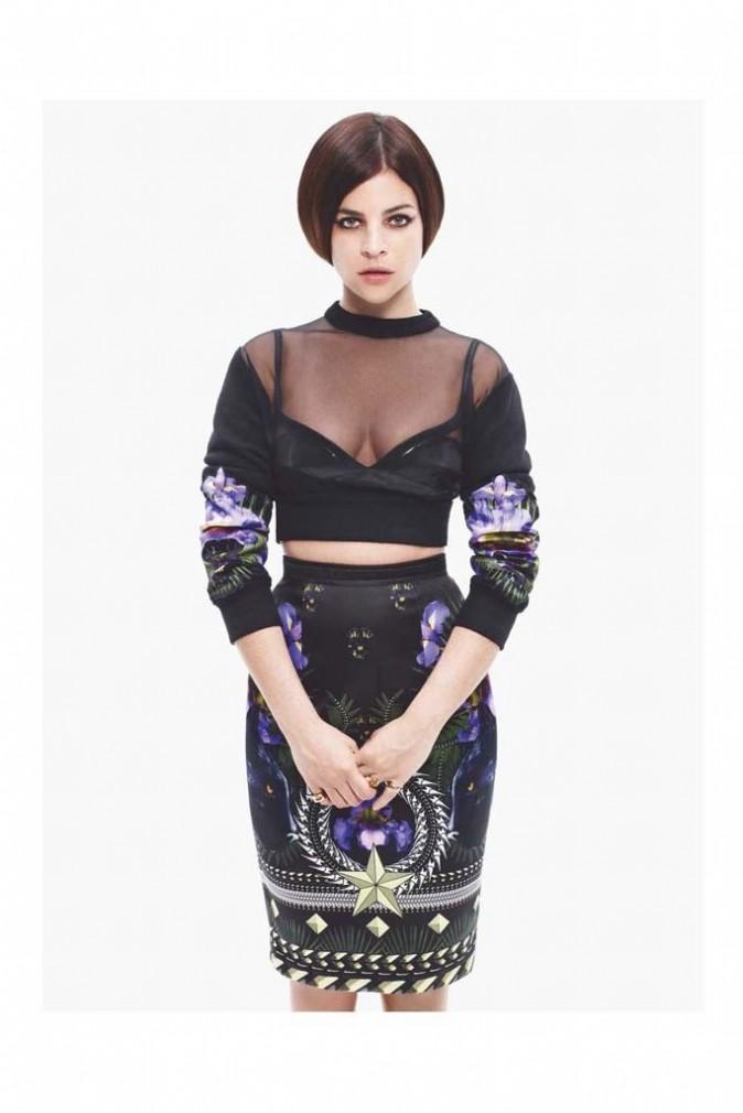 Julia Restoin-Roitfeld en Givenchy !