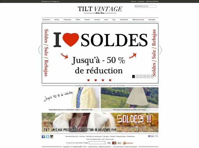 Tilt Vintage : 100 % vintage
