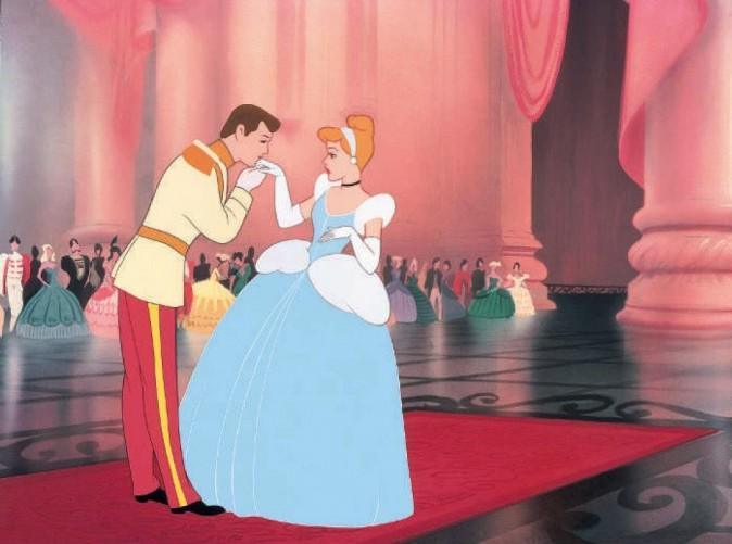 Cendrillon et son prince charmant