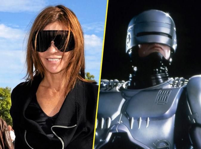 Carine Roitfeld et Robocop !