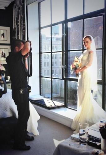 Découvrez la sublime robe de mariée de Christina Ricci !