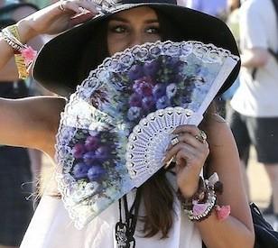 L'éventail : l'accessoire tendance de cet été 2013 !