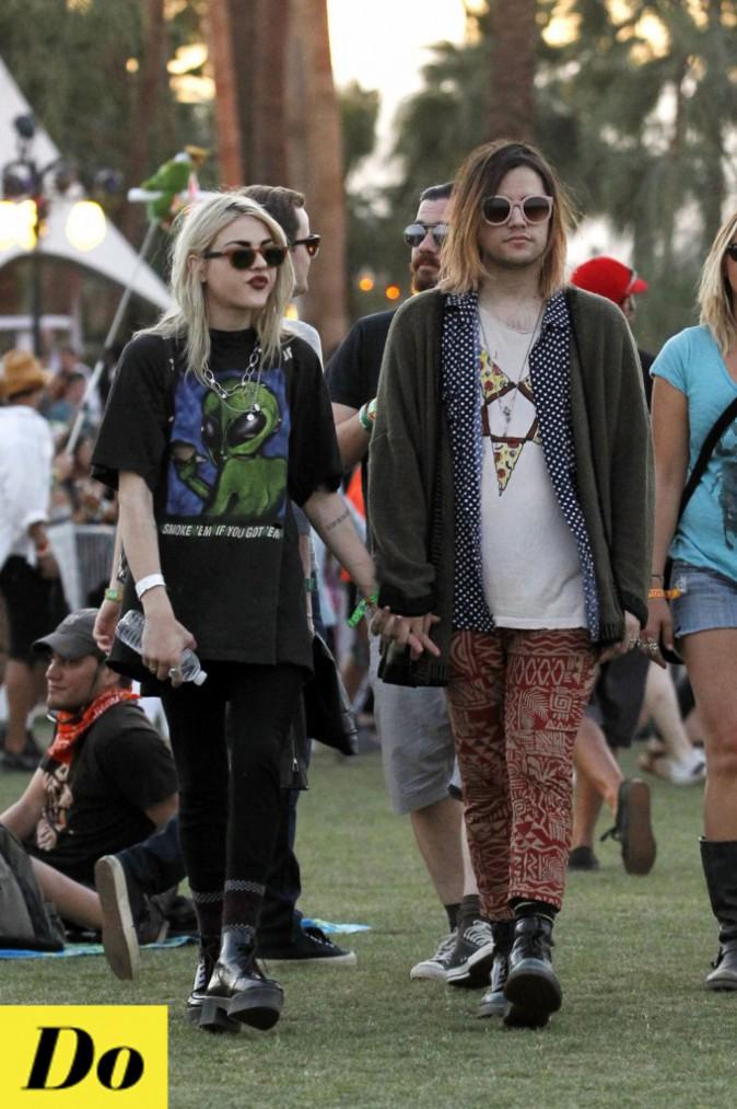 Le look grunge de Frances Bean Cobain n'est peut être pas du goût de tout le monde, mais au moins elle assume et le porte comme il faut !