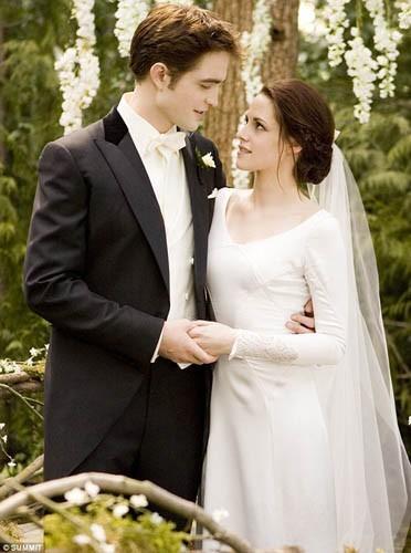 La robe de mariée de Bella !