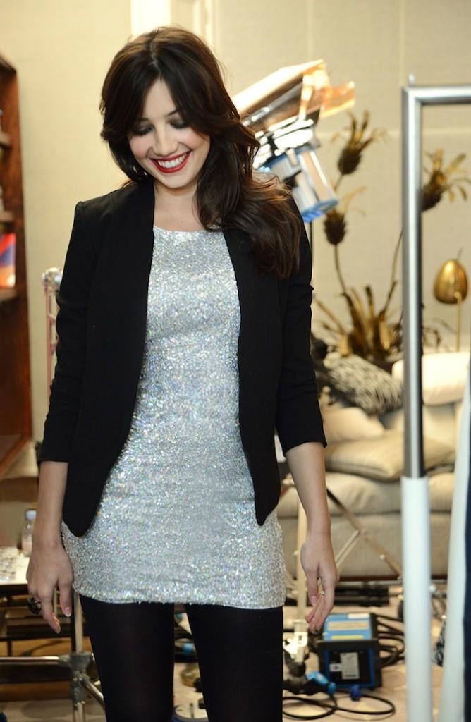 Daisy Lowe et sa robe H&M à 14,95€