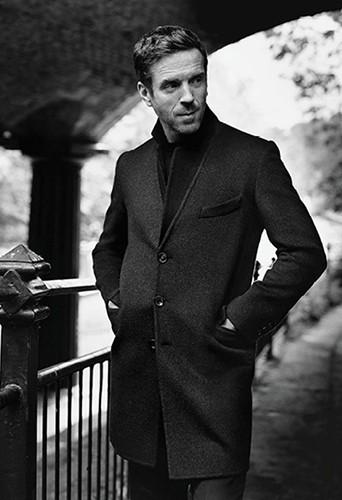 Mode : Damian Lewis : l'interprète de Nicholas Brody est l'égérie Aquascutum !