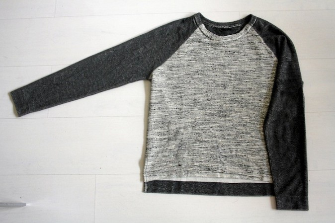 Sweat-shirt bicolore, Oysho 29,99 €